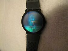RARE! 1991 GTI Carolco TERMINATOR 2 JUDGMENT DAY - 3D Hologram Swiss Watch