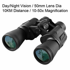 10X50 Night Vision Binoculars 10KM Wide Angle Binoculars Waterproof Hunting