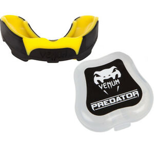 Venum Predator Mouthguard - Black/Yellow
