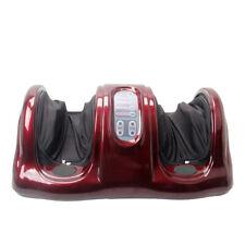 Shiatsu Foot Massager Kneading Rolling Leg Ankle Calf Red Machine w/Remote