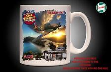 Personalised HAWKER HURRICANE WW2 RAF PLANE Mug Cup Dad Custom Gift - Add Name