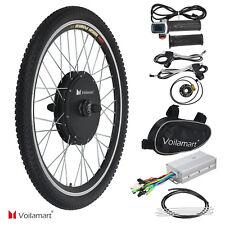 """Vorderrad 26"""" E Bike Conversion Kit 48V 1000W Ebike Elektrofahrrad Umbausatz Kit"""