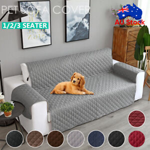 Sofa Cover Quilted Couch Covers Lounge Protector Slipcovers 1/2/3 Seater Pet Dog