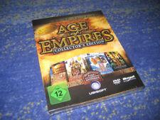 Age of Empires COLLECTORS EDITION 4 pièces + BANDE ORIGINALE NEUF + soudées de collection
