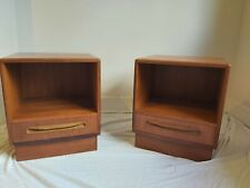 G Plan bedside tables pair