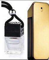 1 Million Inspired Car Air Freshener Scent Perfume Bottle Ornament Designer