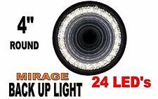 """24 LED 4"""" ROUND """"MIRAGE"""" WHITE BACK UP LIGHT"""