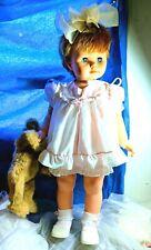 "Vintage EEGEE Doll  30"" tall  walk Fair Condition."