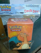 Pokemon Charizard Deck Box Card Protection for Pokemon Trading cards Sealed pack