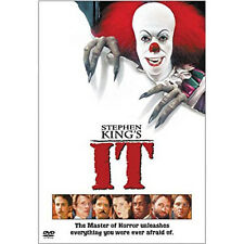 It - Stephen King (DVD, 2002; W/S Snapcase) Harry Anderson