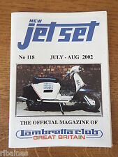New Jet Set Magazine, Lambretta Great Britain Club, No.118 2002