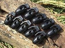 10 x BLACK GRENADE STYLE RUCKSACK/JACKET CORD LOCKS BUSHCRAFT SURVIVAL LANYARDS