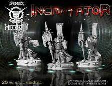 Hitech Miniatures - 28SF057 Amadeus Pheron with Halberd Warhammer 40k 40000