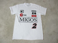 NEW Migos Concert Shirt Adult Medium White Red Hip Hop Rapper Music Rap Tee Mens