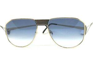 ESSENCE Sunglasses Vintage Ages 80 Made IN Japan Retro Drop Metal Man