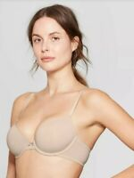 Auden Women/'s Full Coverage Icon Lightly Lined Bra Dapper Turquoise, 38DDD
