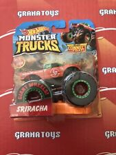 Sriracha 22/50 2019 Hot Wheels Monster Trucks Case F