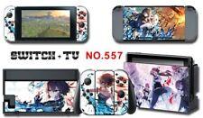 Nintendo Switch Console Joy-Con Skin Sticker Cover #557 a F01