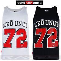 "New Ecko Unltd ""Citan"" Mens Vest Summer Sleeveless Printed T-shirt Top Tee Tank"