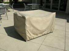"""Outdoor Patio Side / End Table Cover   Large Ottoman Cover (36"""" L x 30"""" W)"""