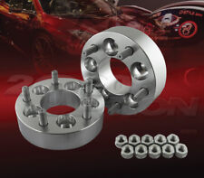 "38mm (1.5"") 5x100 to 5x114.3 Wheel Adapters Spacers Converter M12x1.25 Studs"