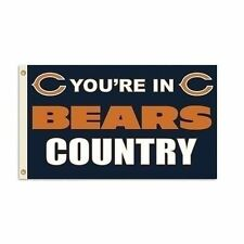 Chicago Bears 3 x 5 You're in Bears Country Flag-3280
