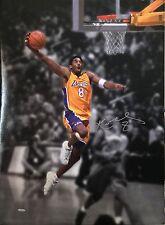 "Kobe Bryant Los Angeles Lakers Signed 24""x 32"" Canvas LE # 43/108  "" UDA"""