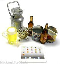 YA-0365 1/10 RC Rock Crawler Camping Truggy Beer Bottle Pad Alarm Clock Food