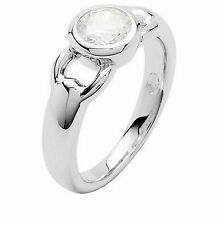 Size 17 Fossil Ladies Ring Silver 54 (17,2 mm ø) JF16841