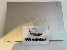 Plasturgie Capot écran arrière coque cover écran SONY VAIO PCG-381M (VGN-FZ18M)