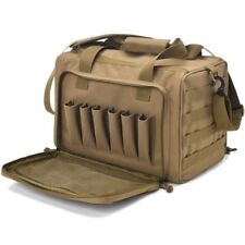 Tactical Gun Shooting Range Bag Pistol Range Duffel Molle Handgun Gear Ammo Bag