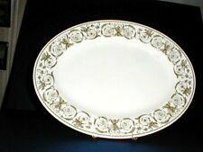 "Wedgwood Bone China PERUGIA 15"" Oval Serving Platter"