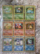 Pokemon Near Mint ORIGINAL Complete Set 151/150 - 45 Holographic/Foil - 1999
