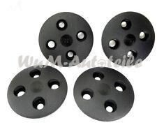 Satz 4 Stück Radkappen klein schwarz 12 Zoll Fiat 126 new wheel caps