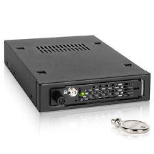 """ICY DOCK ToughArmor EX MB491SKL-B 2.5"""" SATA SAS HDD SSD 3.5"""" Metal Mobile Rack"""