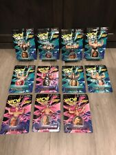 1998 WCW Complete Collection Of 11 Figures San Francisco Toy Makers Sting Hogan