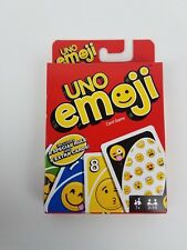 Uno Emoji edition Mattel card game