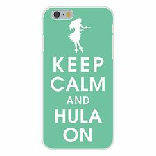 Keep Calm and Hula On Hawaii Dance FITS iPhone 6+ Plastic Snap On Case Cover New