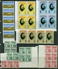 Kuwait 1958 - 1981 MLH sets and Multiples Collection of 298 stamps