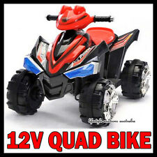 NEW KIDS 12v QUAD BIKE BATTERY ELECTRIC RIDE ON CAR CHILDRENS TOY