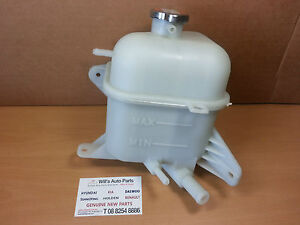 GENUINE BRAND NEW  OVER FLOW BOTTLE SUITS HYUNDAI TRAJET 2000 - 2008