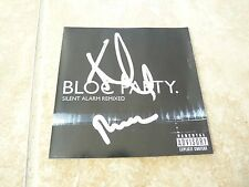 Bloc Party Kele & Russell Autographed Signed Silent Alarm CD Book PSA Guaranteed