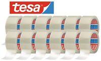 12 Rollen TESA Packband 64014 PP Paketklebeband abrollend Klebeband Transparent