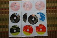 10 CDG KARAOKE DISCS ROCK & OLDIES - WILLIE NELSON,RANDY TRAVIS,CREED CD+G 30a