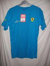 T-shirt Homme FERRARI Taille S Couleur bleu neuf avec étiquette