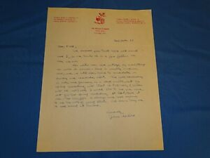 Vintage Autograph Signed Handwritten Letter JOHN UPDIKE, Harvard Lampoon