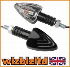 Luces y bombillas de indicadores de color principal negro para motos Honda