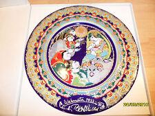 Rosenthal Weihnachtsteller 1977  Wandteller Sammelteller design Bjorn Wiinblad