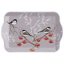 Tablett, Tray BIRD ON BRANCH 13x21cm Ambiente | Vogel, Meise