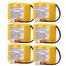 6x 3.6V 400mAh Phone Battery for At&T El42258 El42308 El42408 01839 24112 4128